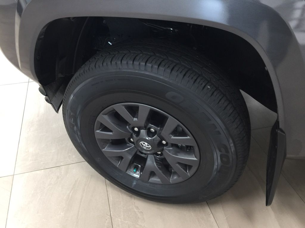 Gray[Magnetic Grey Metallic] 2020 Toyota Tacoma SR5 Left Front Rim and Tire Photo in Sherwood Park AB