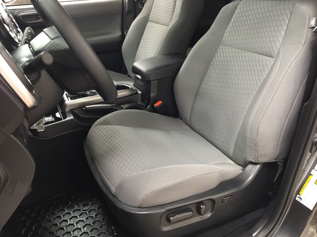 Gray[Magnetic Grey Metallic] 2020 Toyota Tacoma SR5 Left Front Interior Photo in Sherwood Park AB