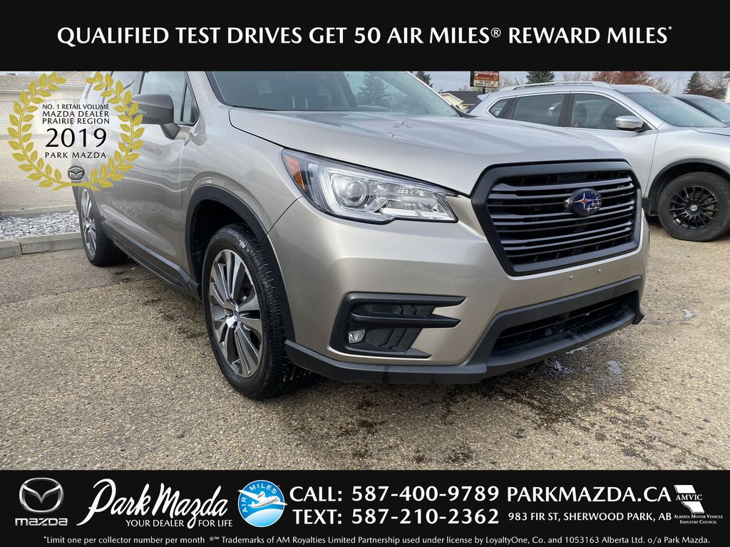 PEWTER 2019 Subaru Ascent Limited - NAV, Bluetooth, Backup Cam, Heated Front Seats