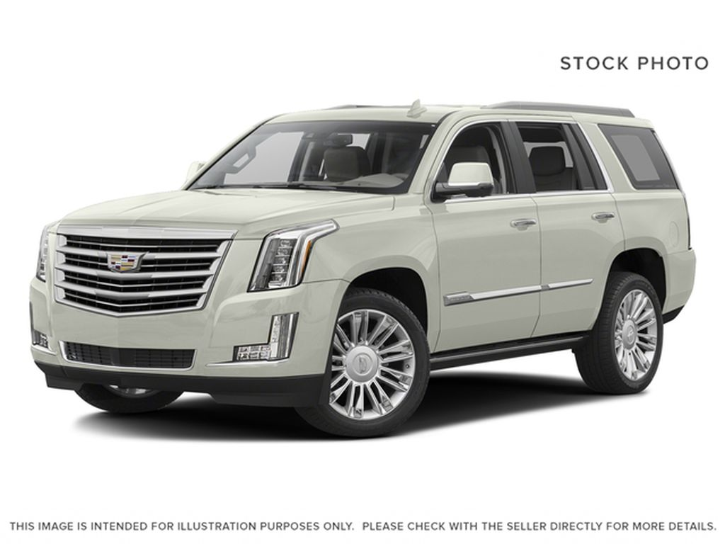 White[Crystal White Tricoat] 2016 Cadillac Escalade