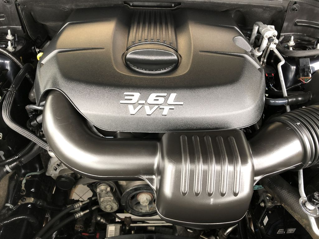 Blue[True Blue Pearl] 2013 Jeep Grand Cherokee Engine Compartment Photo in Edmonton AB