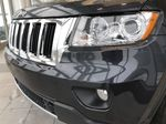 Blue[True Blue Pearl] 2013 Jeep Grand Cherokee Left Front Head Light / Bumper and Grill in Edmonton AB