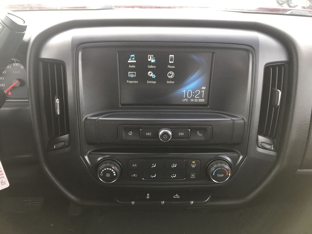 Red 2019 Chevrolet Silverado 1500 LD 4WD Double Cab Custom *Back-Up Camera**Bluetooth* Central Dash Options Photo in Brandon MB