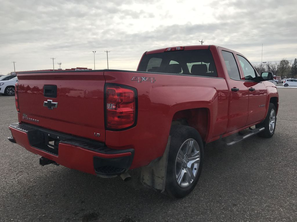 Red 2019 Chevrolet Silverado 1500 LD 4WD Double Cab Custom *Back-Up Camera**Bluetooth* Right Rear Corner Photo in Brandon MB