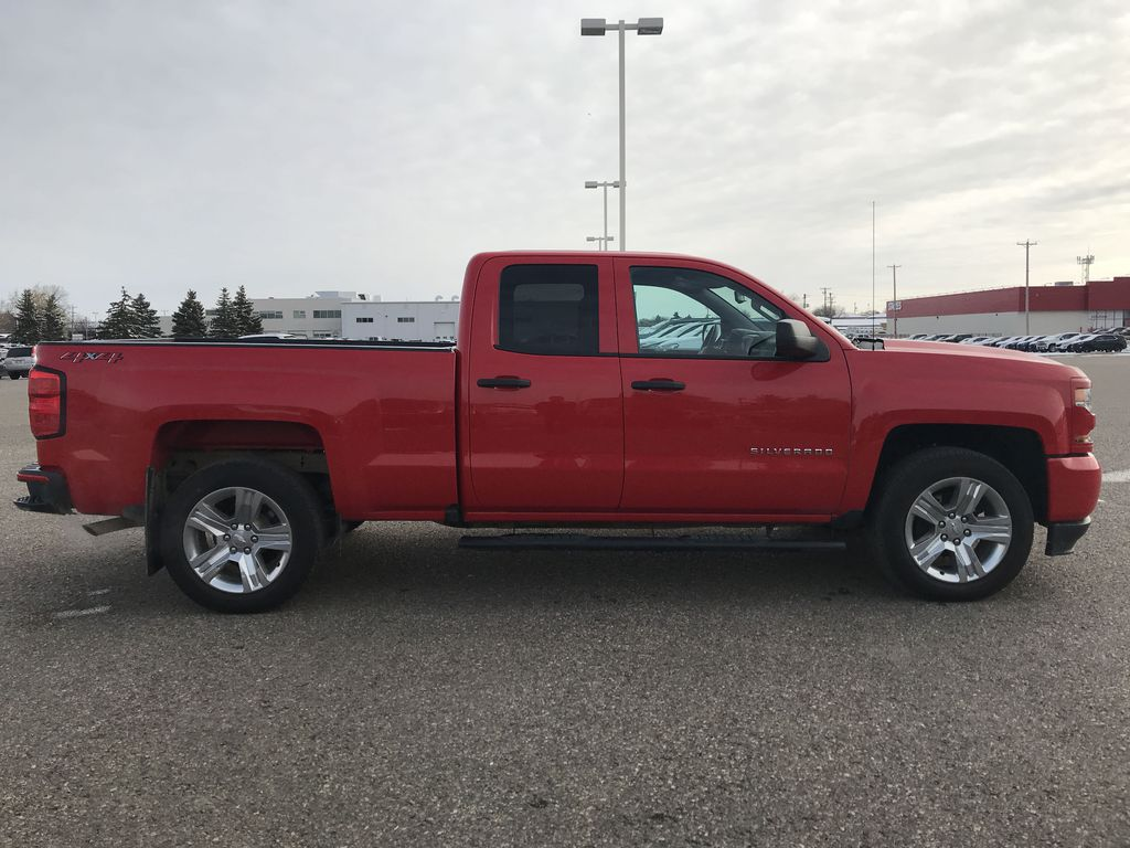 Red 2019 Chevrolet Silverado 1500 LD 4WD Double Cab Custom *Back-Up Camera**Bluetooth* Right Side Photo in Brandon MB