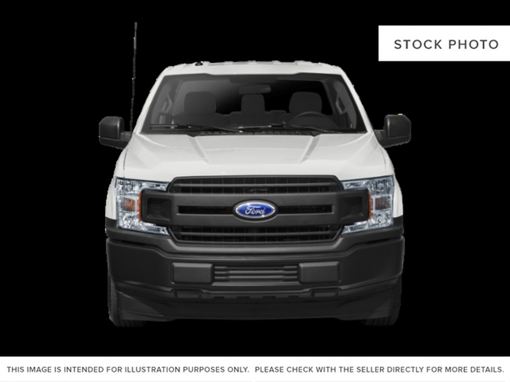Black[Shadow Black] 2018 Ford F-150 Front Vehicle Photo in Dartmouth NS