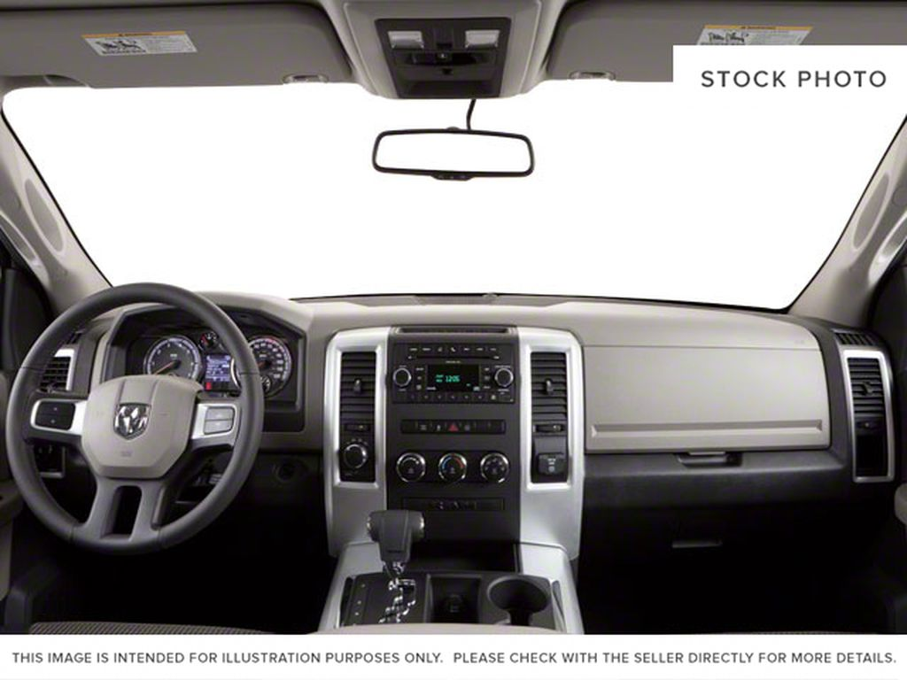 2010 Dodge Ram 1500 Central Dash Options Photo in Cold Lake AB