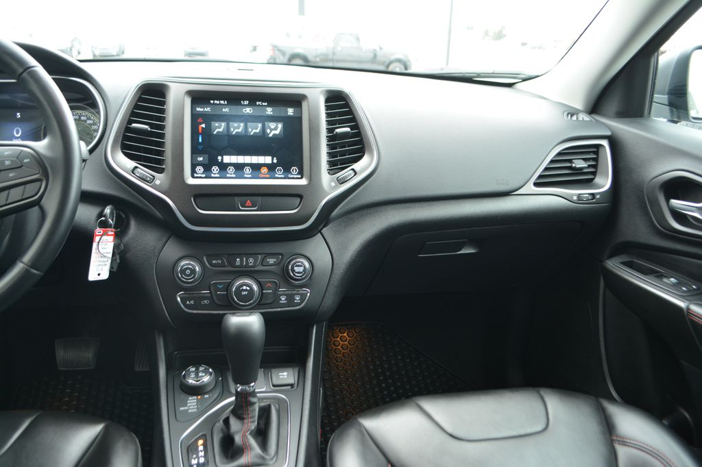 Silver 2020 Jeep Cherokee Right Side Front Seat  Photo in Bonnyville AB