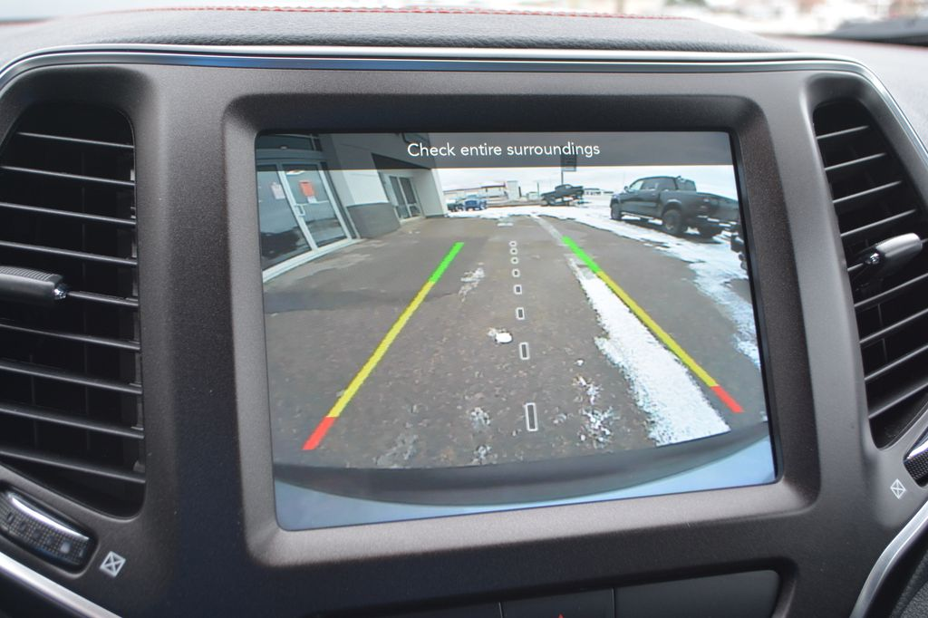 Silver 2020 Jeep Cherokee Backup Camera Closeup Photo in Bonnyville AB
