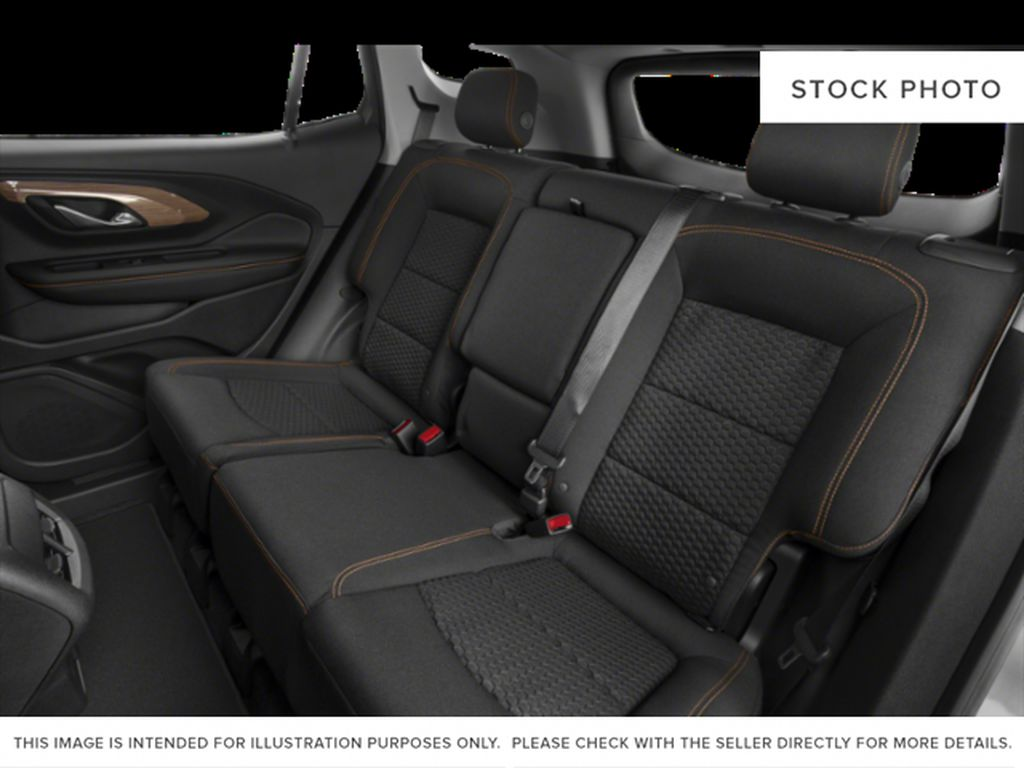 Summit White 2021 GMC Terrain Left Side Rear Seat  Photo in Oshawa ON