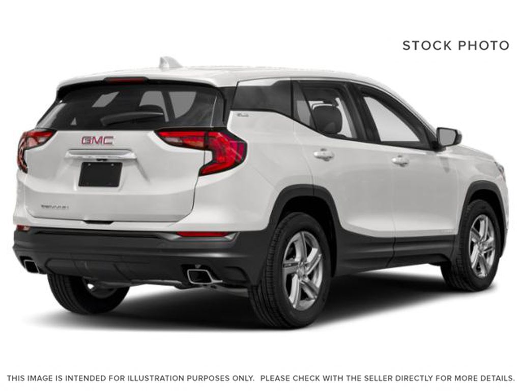 Summit White 2021 GMC Terrain Right Rear Corner Photo in Oshawa ON