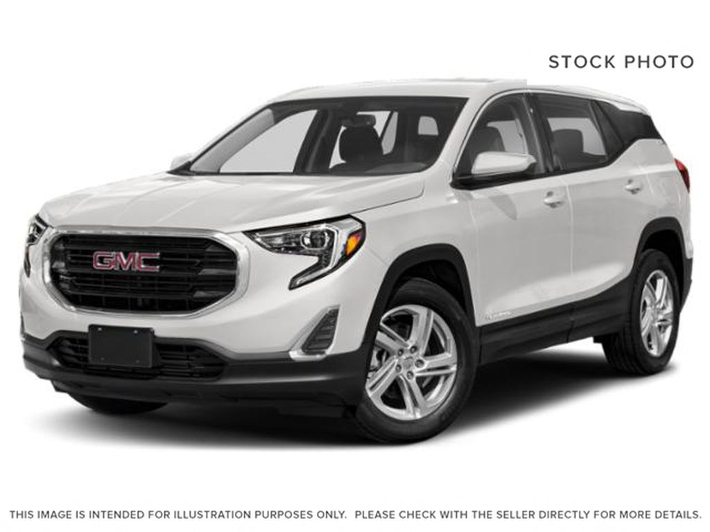 Summit White 2021 GMC Terrain
