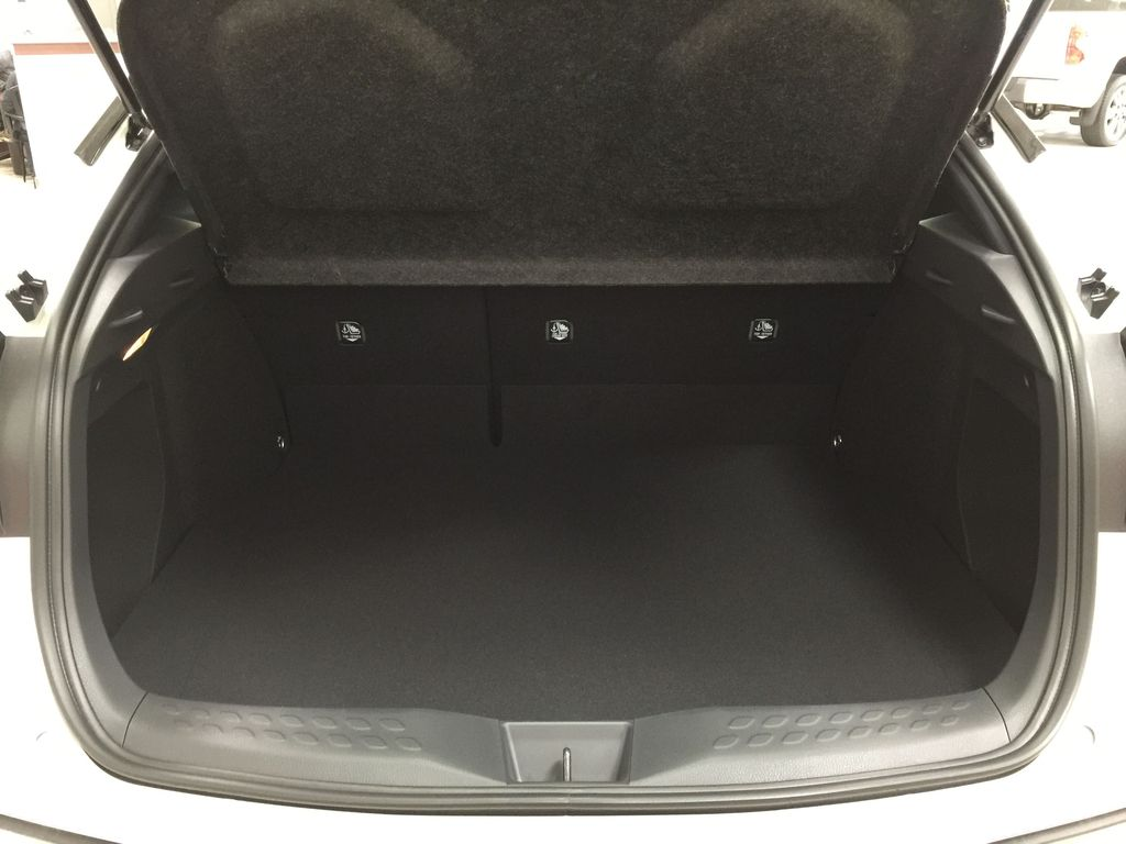 Black[Black Sand Pearl w/Silver Roof] 2021 Toyota C-HR XLE Premium Cargo Area/Rear Seats Photo in Sherwood Park AB
