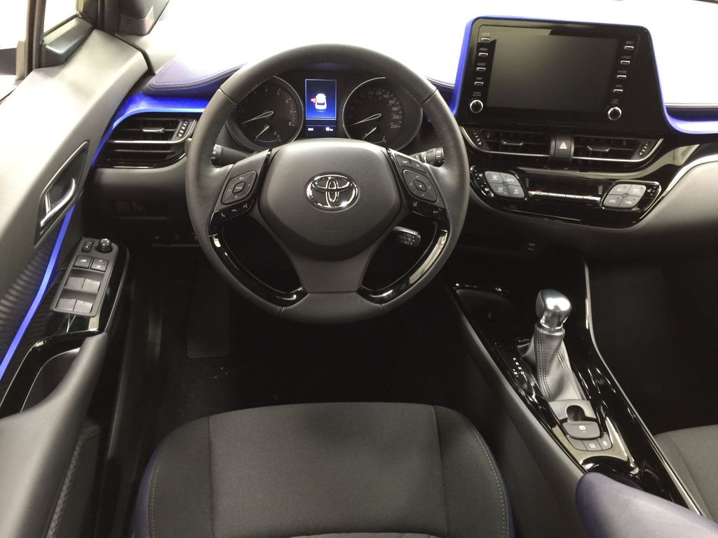 Black[Black Sand Pearl w/Silver Roof] 2021 Toyota C-HR XLE Premium Left Front Seat Photo in Sherwood Park AB