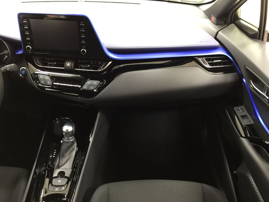 Black[Black Sand Pearl w/Silver Roof] 2021 Toyota C-HR XLE Premium Right Front Seat Photo in Sherwood Park AB