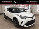 Black[Black Sand Pearl w/Silver Roof] 2021 Toyota C-HR XLE Premium Primary Listing Photo in Sherwood Park AB