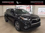 Black[Midnight Black Metallic] 2020 Toyota Highlander XLE Primary Listing Photo in Sherwood Park AB