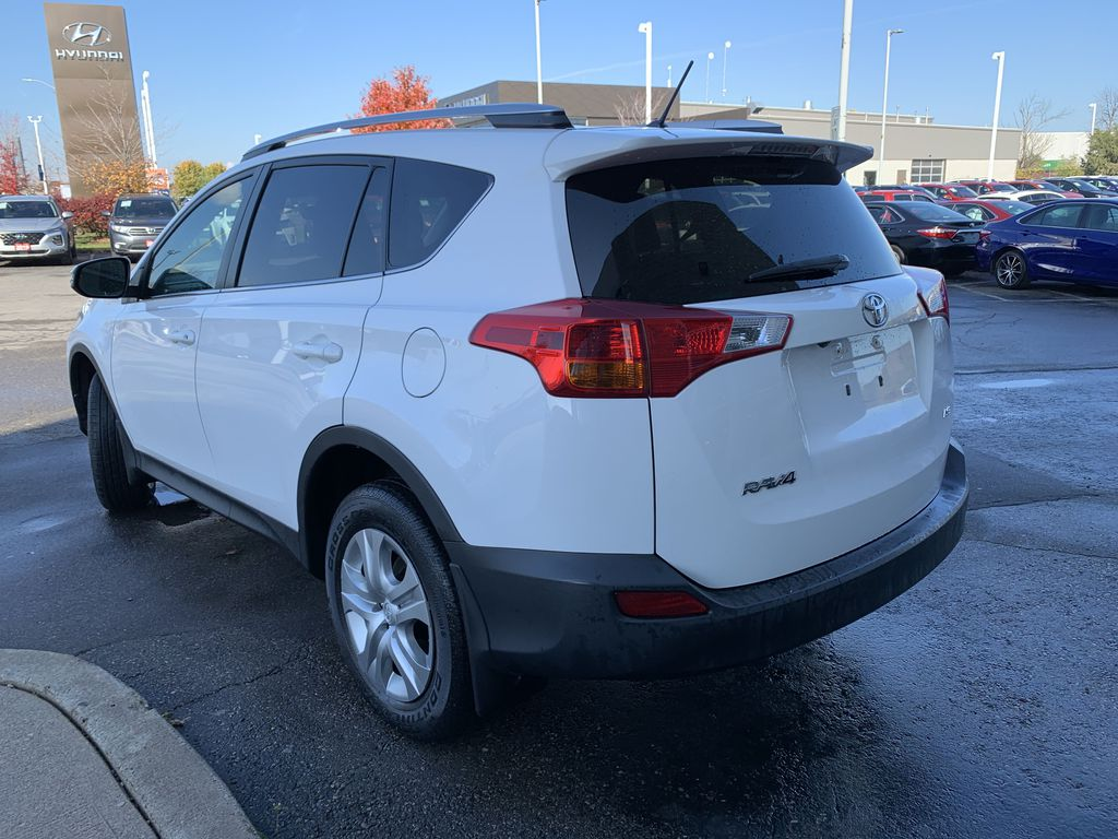 White 2015 Toyota RAV4 Left Front Interior Door Panel Photo in Brampton ON