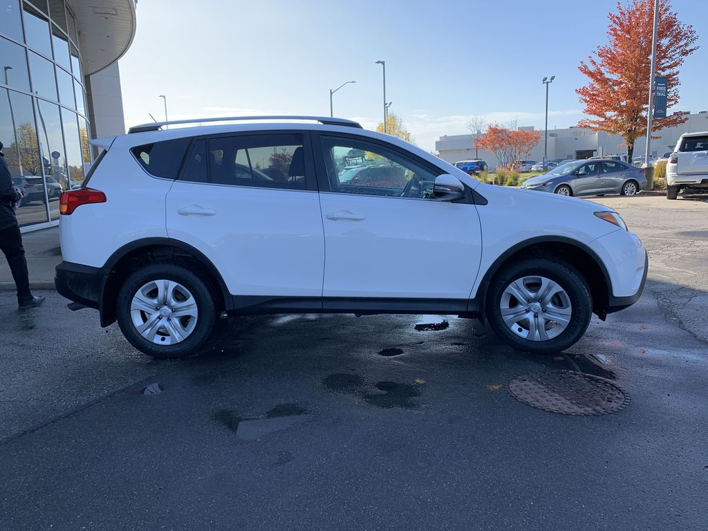 White 2015 Toyota RAV4 Front Vehicle Photo in Brampton ON