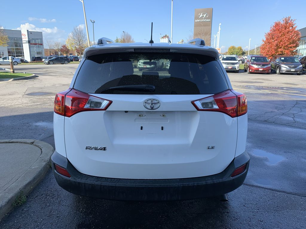 White 2015 Toyota RAV4 Left Front Interior Photo in Brampton ON