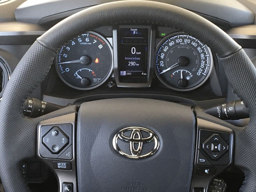 Gray[Cement] 2021 Toyota Tacoma TRD Off Road Odometer Photo in Kelowna BC