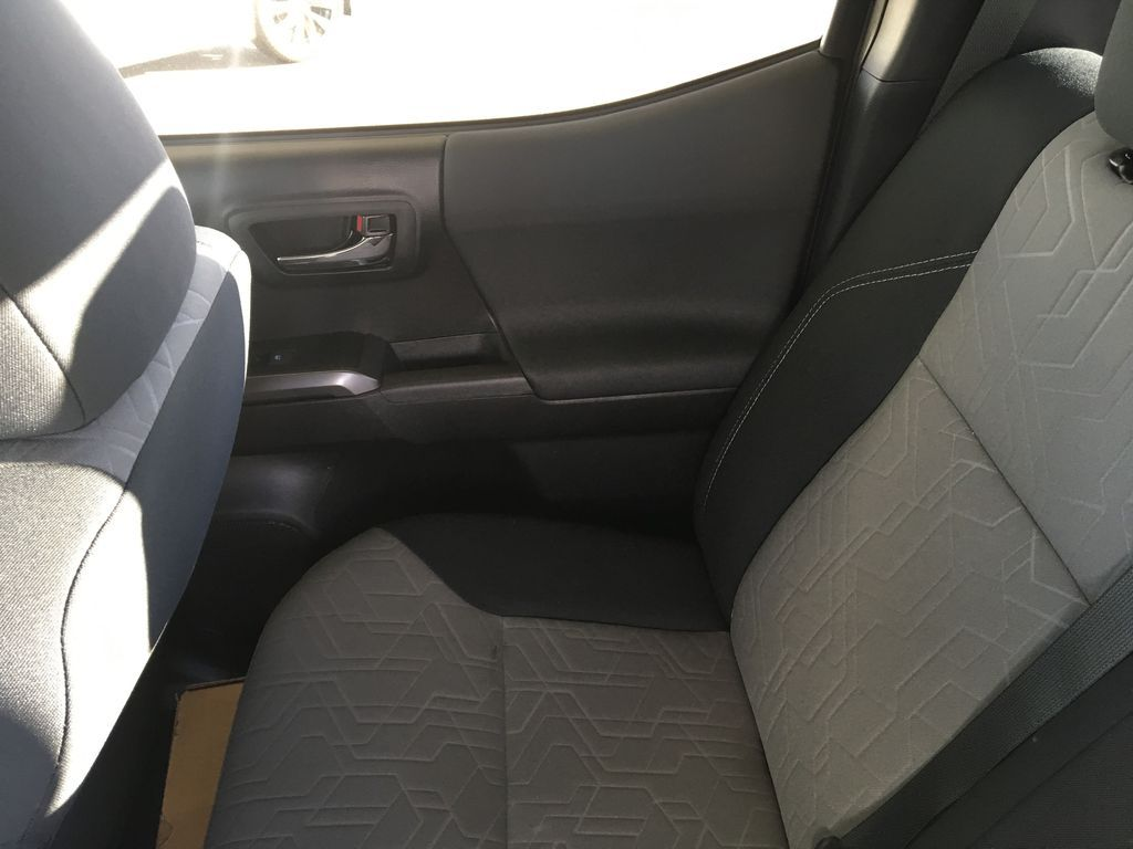Gray[Cement] 2021 Toyota Tacoma TRD Off Road Right Rear Interior Door Panel Photo in Kelowna BC