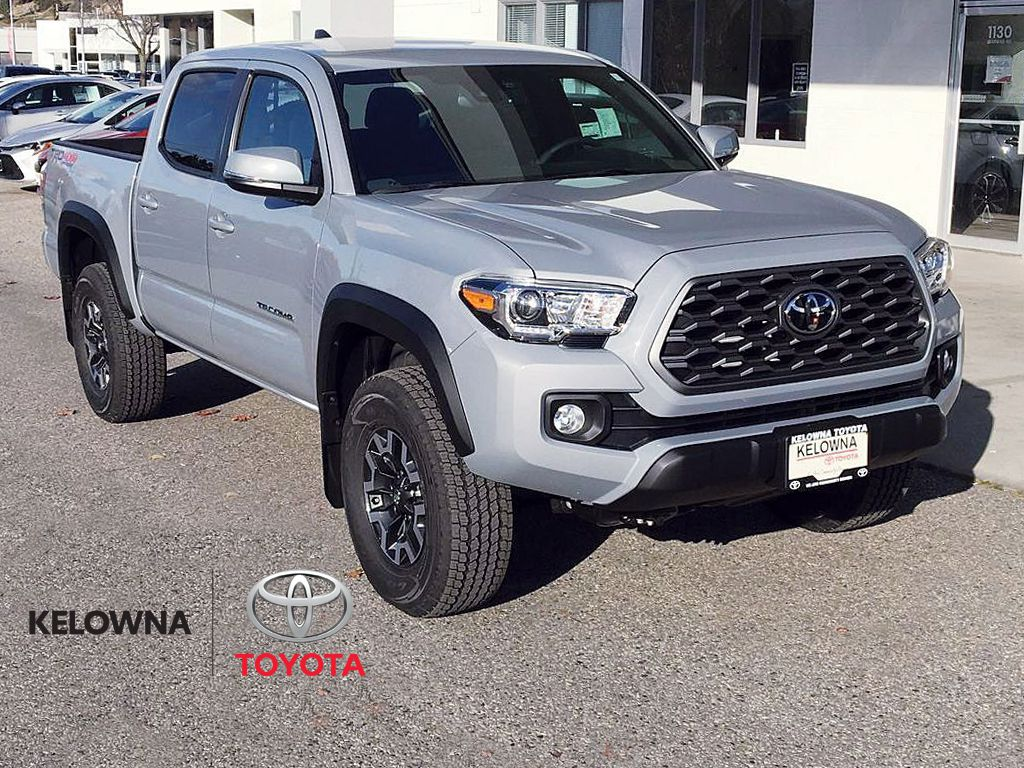 Gray[Cement] 2021 Toyota Tacoma TRD Off Road