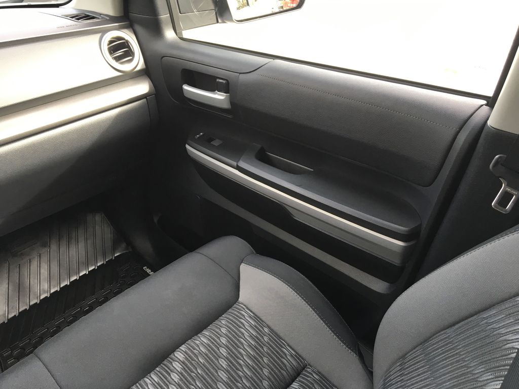 Silver[Silver Sky Metallic] 2019 Toyota Tundra TRD Off Road Right Front Interior Door Panel Photo in Kelowna BC