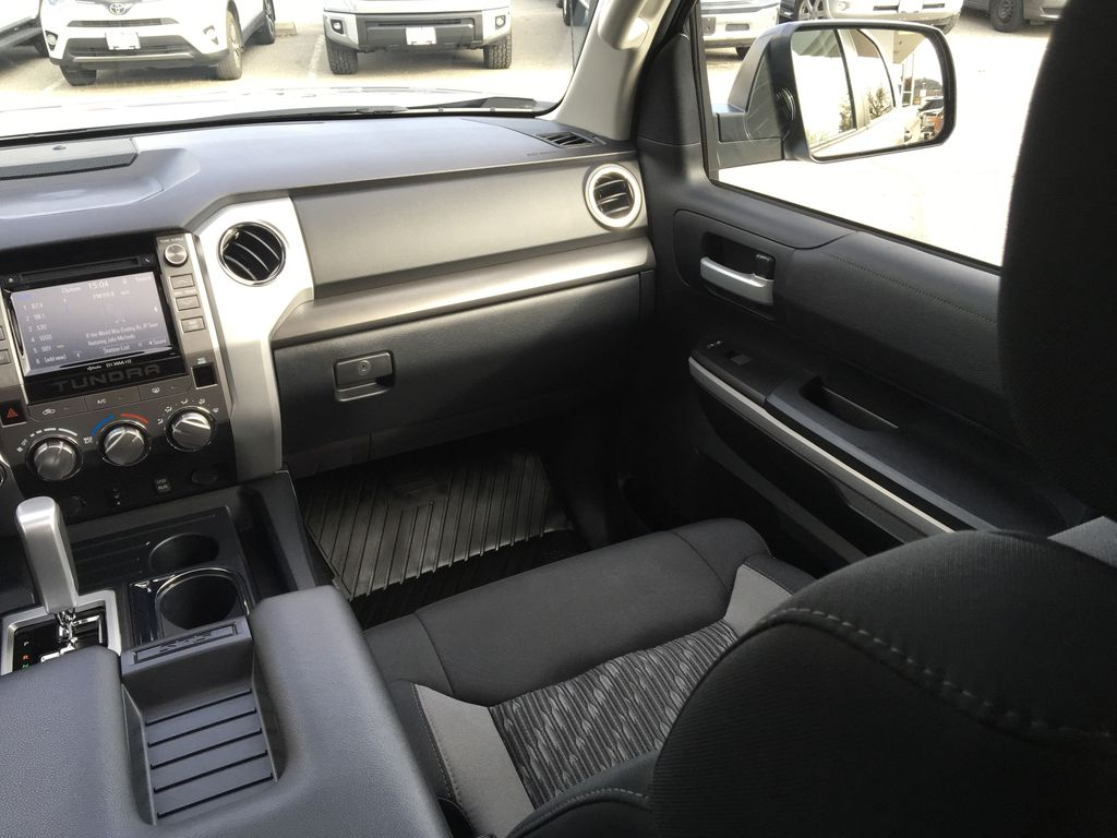 Silver[Silver Sky Metallic] 2019 Toyota Tundra TRD Off Road Right Side Front Seat  Photo in Kelowna BC