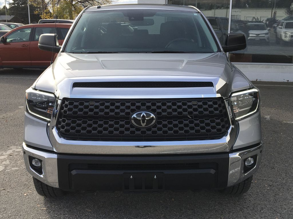 Silver[Silver Sky Metallic] 2019 Toyota Tundra TRD Off Road Front Vehicle Photo in Kelowna BC