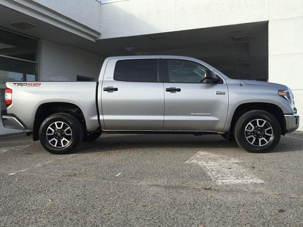 Silver[Silver Sky Metallic] 2019 Toyota Tundra TRD Off Road Right Side Photo in Kelowna BC