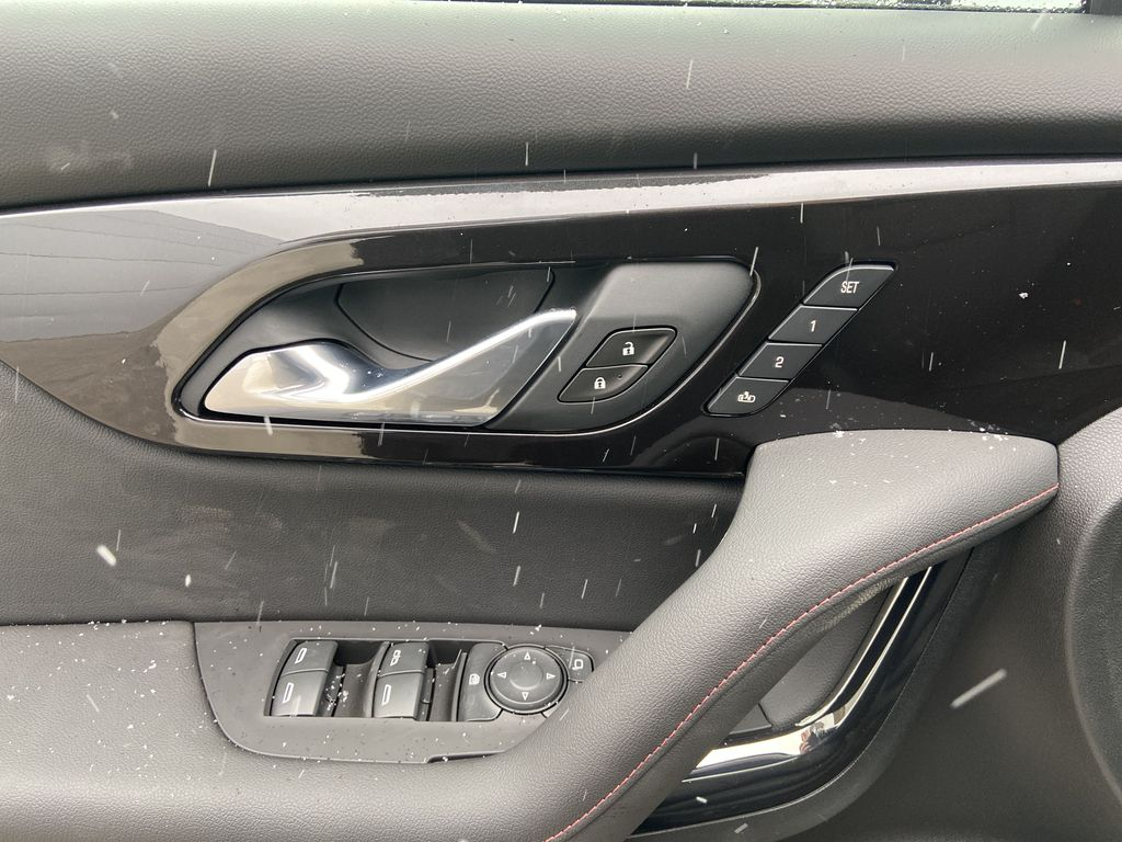 White[Iridescent Pearl Tricoat] 2021 Chevrolet Blazer RS  Driver's Side Door Controls Photo in Calgary AB