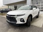 White[Iridescent Pearl Tricoat] 2021 Chevrolet Blazer RS Left Front Head Light / Bumper and Grill in Calgary AB