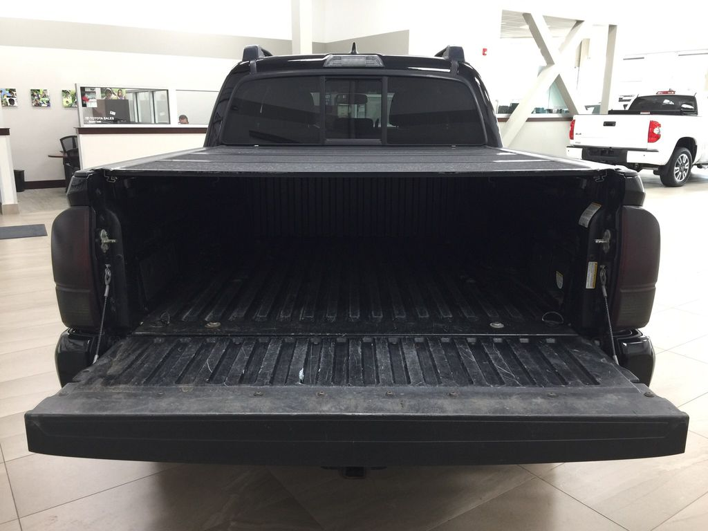 Black[Black] 2016 Toyota Tacoma TRD Sport Cargo Area/Rear Seats Photo in Sherwood Park AB