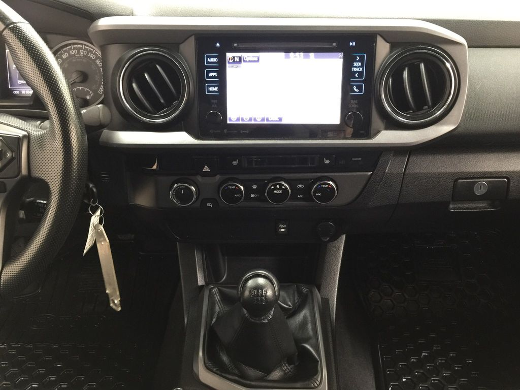 Black[Black] 2016 Toyota Tacoma TRD Sport Central Dash Options Photo in Sherwood Park AB
