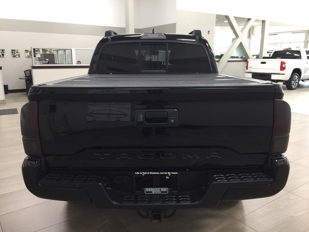 Black[Black] 2016 Toyota Tacoma TRD Sport Rear of Vehicle Photo in Sherwood Park AB