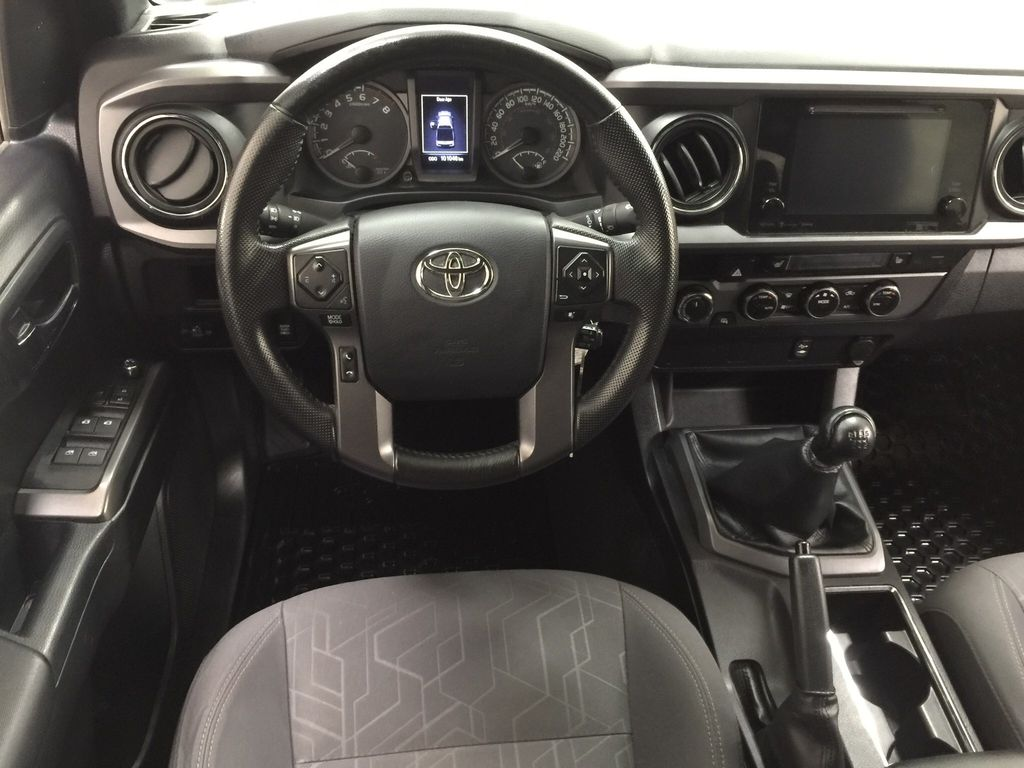 Black[Black] 2016 Toyota Tacoma TRD Sport Left Front Seat Photo in Sherwood Park AB