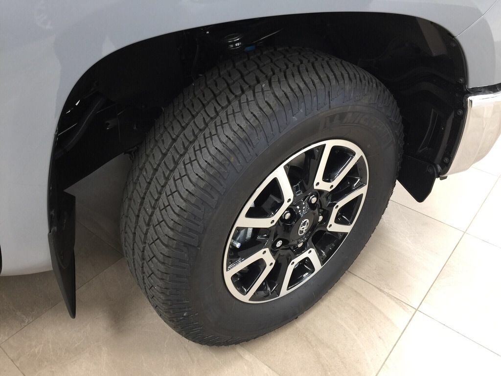 Gray[Cement Grey Metallic] 2021 Toyota Tundra TRD Off-Road Right Front Rim and Tire Photo in Sherwood Park AB