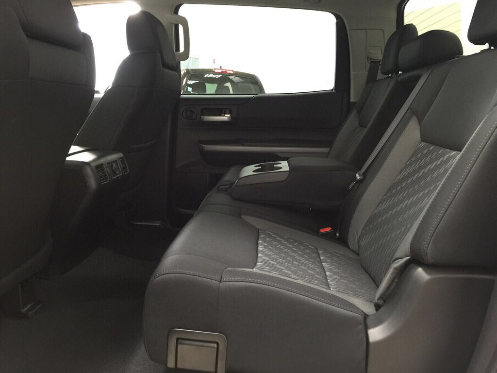Gray[Cement Grey Metallic] 2021 Toyota Tundra TRD Off-Road Rear Seat Photo in Sherwood Park AB