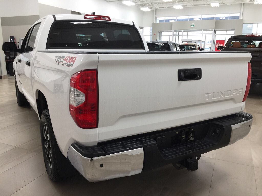 White[Super White] 2021 Toyota Tundra TRD Off-Road Left Rear Corner Photo in Sherwood Park AB