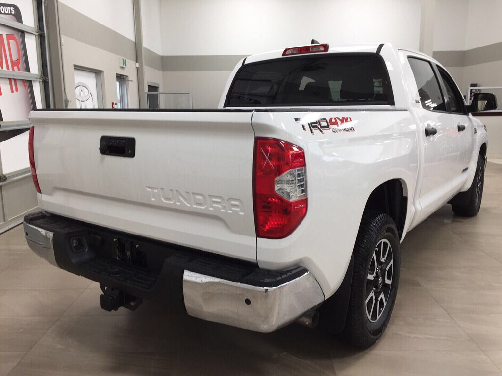 White[Super White] 2021 Toyota Tundra TRD Off-Road Right Rear Corner Photo in Sherwood Park AB