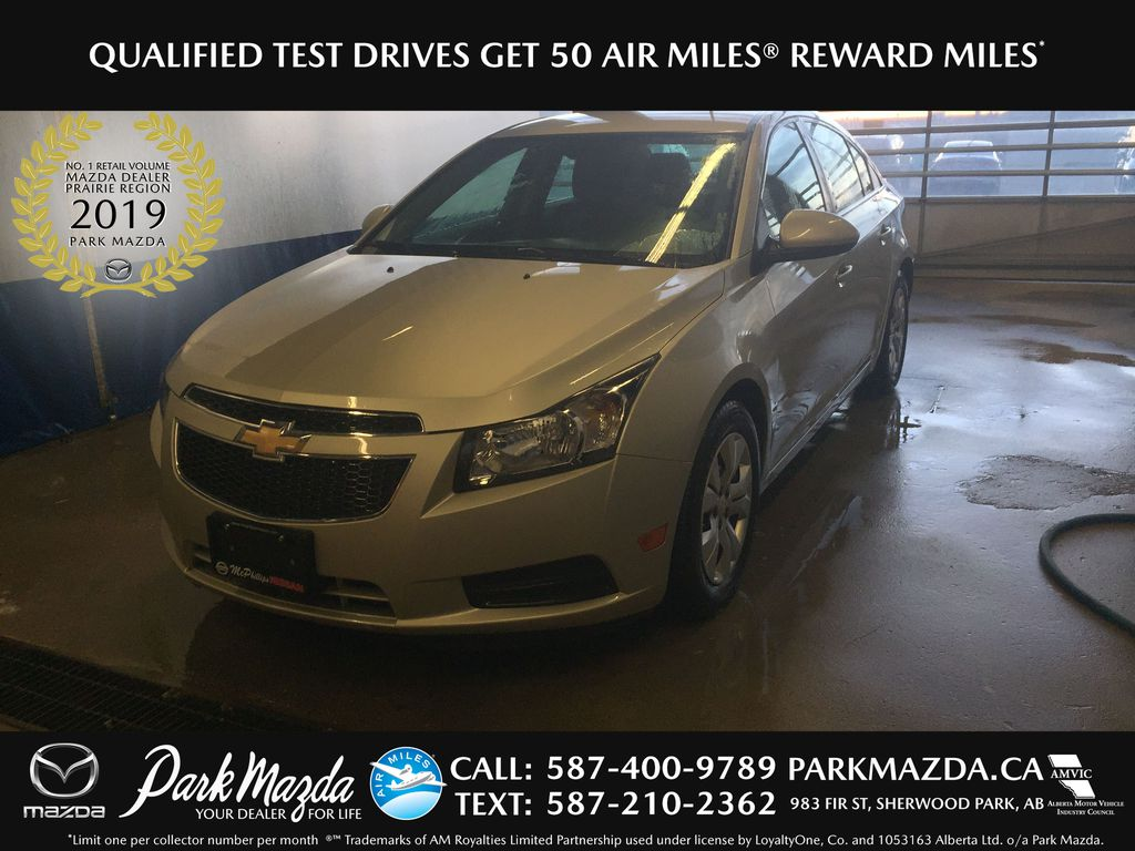 SILVER 2014 Chevrolet Cruze 1LT - Bluetooth, Backup Camera, Remote Start