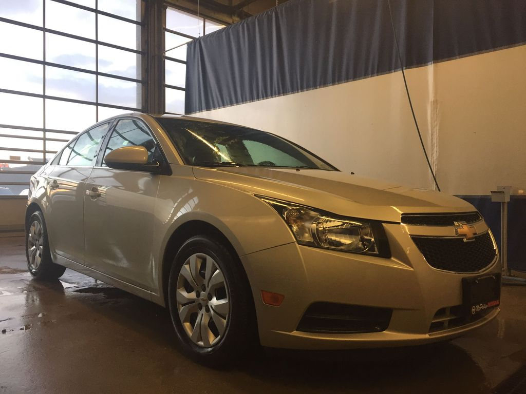 SILVER 2014 Chevrolet Cruze 1LT - Bluetooth, Backup Camera, Remote Start Engine Compartment Photo in Edmonton AB
