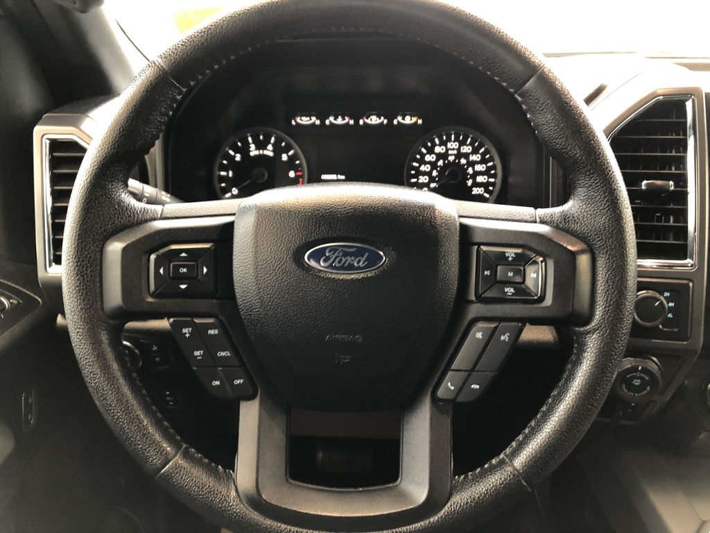 White[Oxford White] 2016 Ford F-150 Strng Wheel: Frm Rear in Edmonton AB