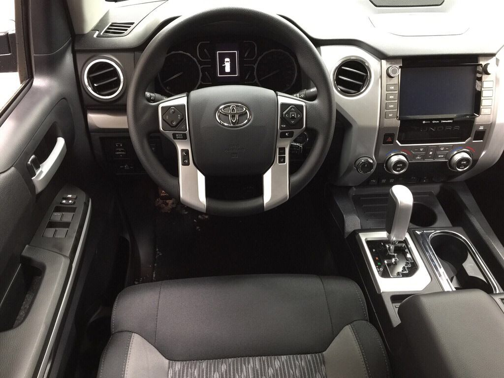 Black[Midnight Black Metallic] 2021 Toyota Tundra TRD Off-Road Left Front Seat Photo in Sherwood Park AB