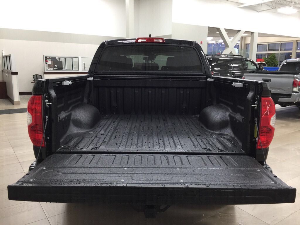 Black[Midnight Black Metallic] 2021 Toyota Tundra TRD Off-Road Cargo Area/Rear Seats Photo in Sherwood Park AB