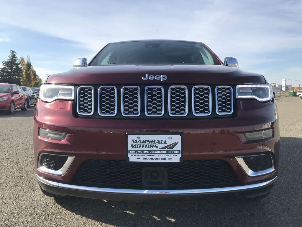 Red[Velvet Red Pearl] 2017 Jeep Grand Cherokee 4WD 4dr Summit *FULL LOAD* *67K MSRP* *Leather* Left Front Head Light / Bumper and Grill in Brandon MB