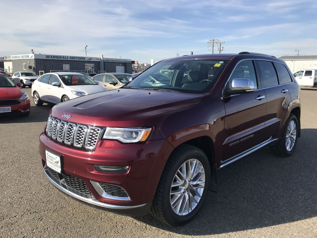 Red[Velvet Red Pearl] 2017 Jeep Grand Cherokee 4WD 4dr Summit *FULL LOAD* *67K MSRP* *Leather*