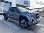 Gray[Satin Steel Metallic] 2021 GMC Sierra 1500 AT4 Primary Listing Photo in Calgary AB