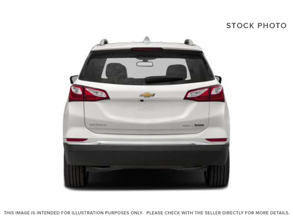 White[Iridescent Pearl Tricoat] 2020 Chevrolet Equinox Premier Rear of Vehicle Photo in Calgary AB